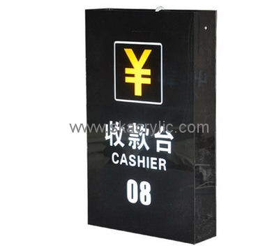 Factory wholesale acrylic led sign sign light box acrylic