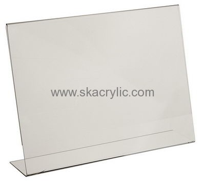 Customized Acrylic Table Stand Plastic Table Tent Holders Acrylic - Plastic table tent holders