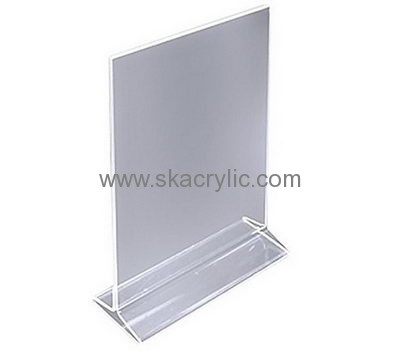 Wholesale acrylic tent card holder 8.5 x 11 acrylic frame lucite ...
