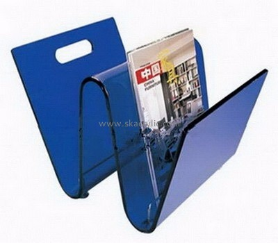 Factory direct wholesale W shape acrylic brochure holder BH-001