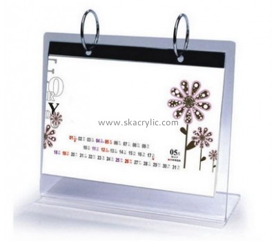 Factory wholesale transparent acrylic calendar holder SH-002