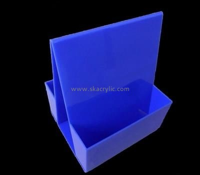 Acrylic plastic supplier custom plastic prototype fabrication brochures stand BH-840