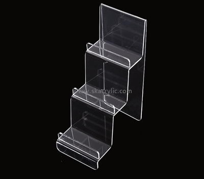 Acrylic display manufacturers custom clear acrylic display flyer rack stands BH-933