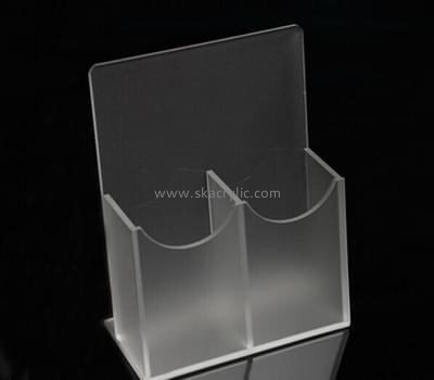 Acrylic display manufacturers custom acrylic plastic fabrication pamphlet display rack BH-972