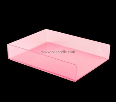 Plastic distributors and fabricators custom acrylic display file holders BH-989