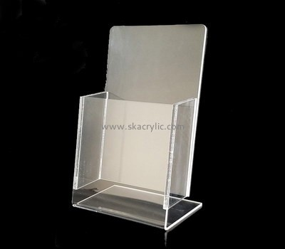Plastic suppliers wholesale acrylic plexiglass displays  holders for flyers BH-994