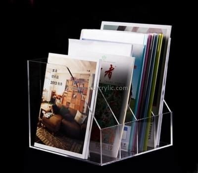 Display stand manufacturers custom clear plastic acrylic file folder BH-1016