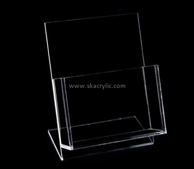 Acrylic products manufacturer custom real estate flyer holders BH-1057