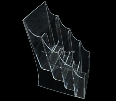 Acrylic manufacturers custom acrylic trade show brochure stands holders BH-1061