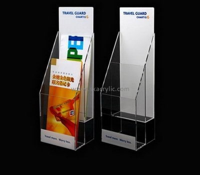 Perspex manufacturers custom acrylic brochure holder display stand BH-1083