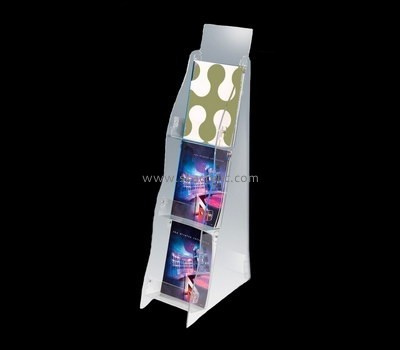 Acrylic display manufacturer custom acrylic magazine stands BH-1106