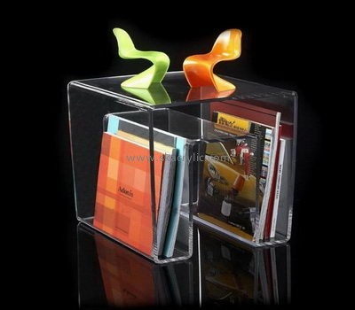 Perspex manufacturers custom acrylic magazine file holder BH-1115