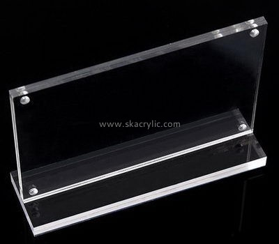 Customized clear acrylic poster holders SH-284