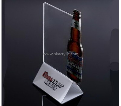 Customized acrylic table stands for signs SH-340