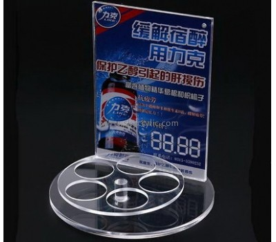 Customized clear plexi sign holder SH-341
