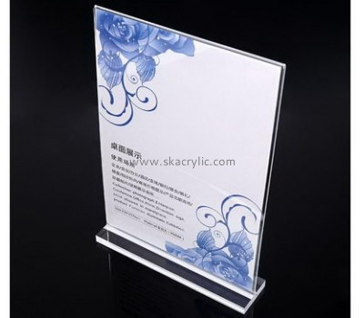 Customized clear plastic notice holders SH-352