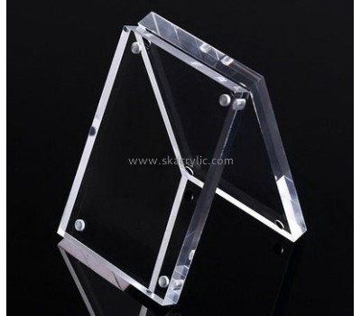 Customized clear acrylic poster sign holder SH-353