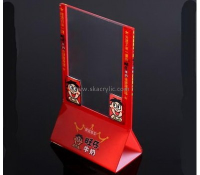 Bespoke lucite sign stand holder SH-365