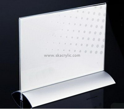 Bespoke table top acrylic poster frames SH-407