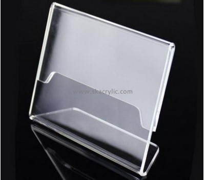Bespoke clear acrylic price tag holder for shelves SH-415