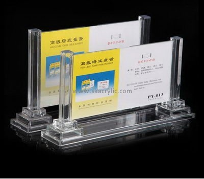 Bespoke clear acrylic picture holder SH-423