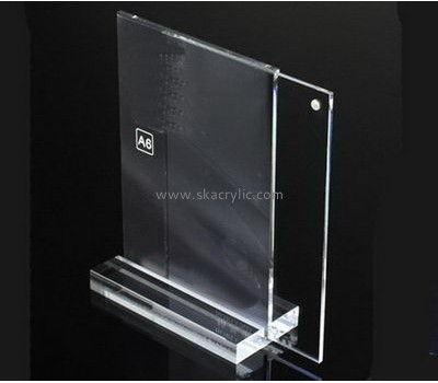 Bespoke acrylic lobby sign holder SH-430