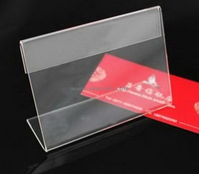 Bespoke clear lucite sign holders SH-449