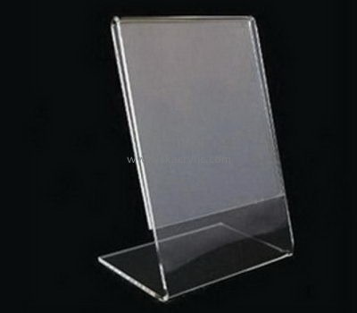 Bespoke clear acrylic sign display SH-457