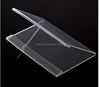 Bespoke V shape clear plastic holders SH-463