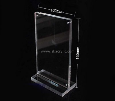 Bespoke clear plastic signs SH-525