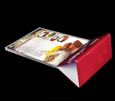 Bespoke restaurant table tents & menu sign displays SH-557