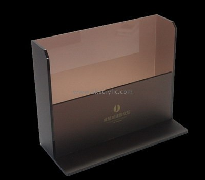 Bespoke acrylic countertop brochure holder BH-1163
