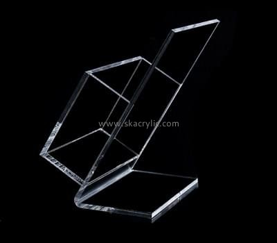 Customize clear brochure holder plastic BH-1206