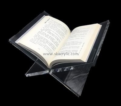 Customize clear acrylic book holder BH-1223