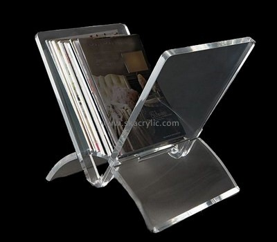 Customize clear acrylic book stand BH-1265