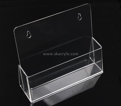 Customize clear acrylic business card holder desk BH-1282