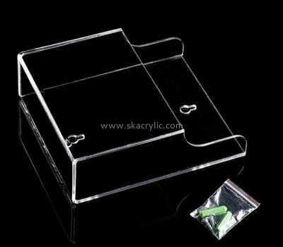 Customize clear acrylic literature holder wall BH-1290