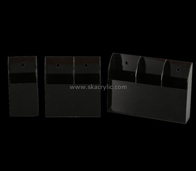 Customize black plastic paper holder for wall BH-1293