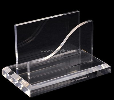 Customize clear acrylic brochure stands BH-1300