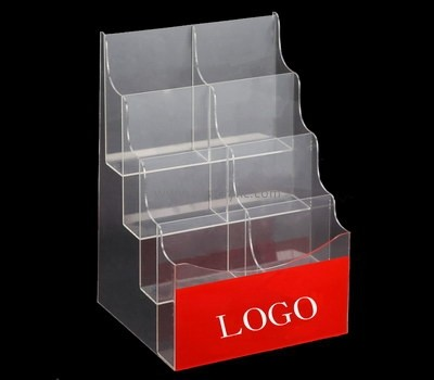 Customize lucite 4 tier brochure holder BH-1326