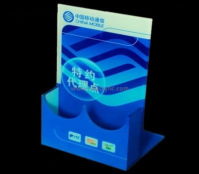 Customize acrylic standing brochure holder BH-1341