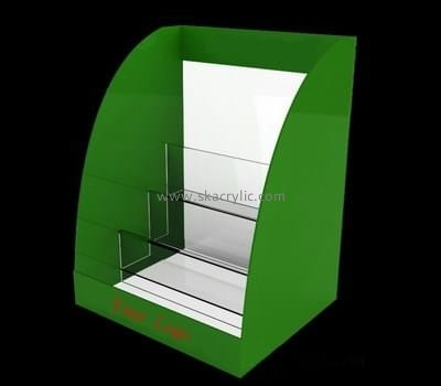 Customize lucite 3 pocket brochure holder BH-1390