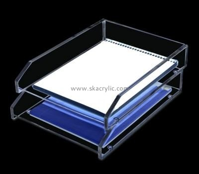 Customize acrylic desktop file folder holder BH-1393