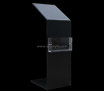 Customize acrylic floor brochure holder BH-1423