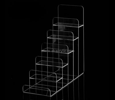 Customize lucite tiered literature holder BH-1447