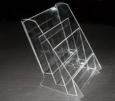 Customize perspex 3 tier brochure holder BH-1460