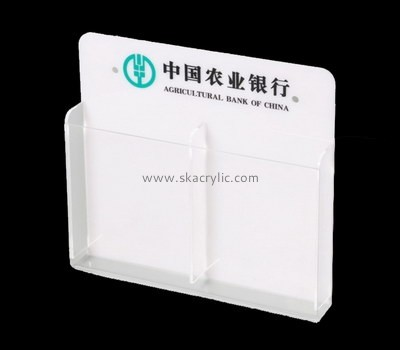 Customize acrylic brochure stands BH-1483