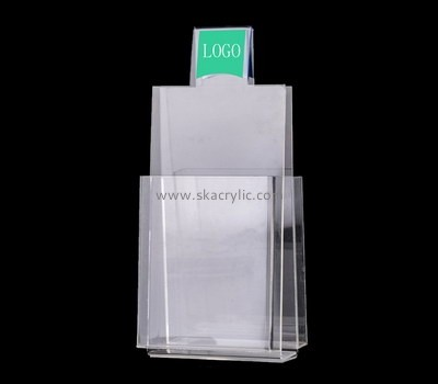 Customize acrylic leaflet holder BH-1503