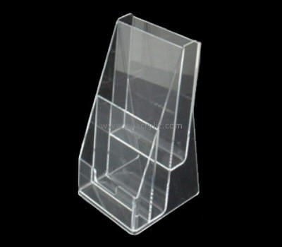 Customize perspex two tier brochure holder BH-1502