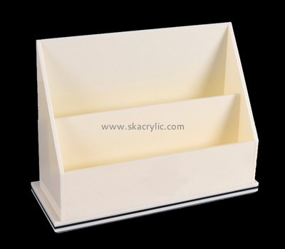 Customize acrylic brochure holder design BH-1506